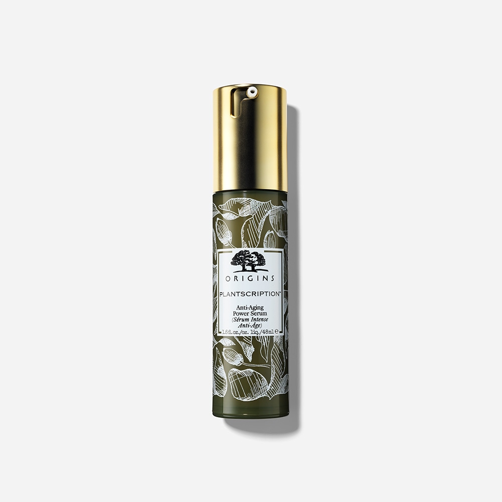 Plantscription Anti Aging Power Serum Origins